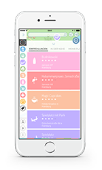 BabyPlaces iPhone Liste