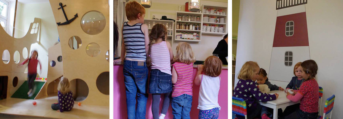 Das Kindercafe in Ottensen