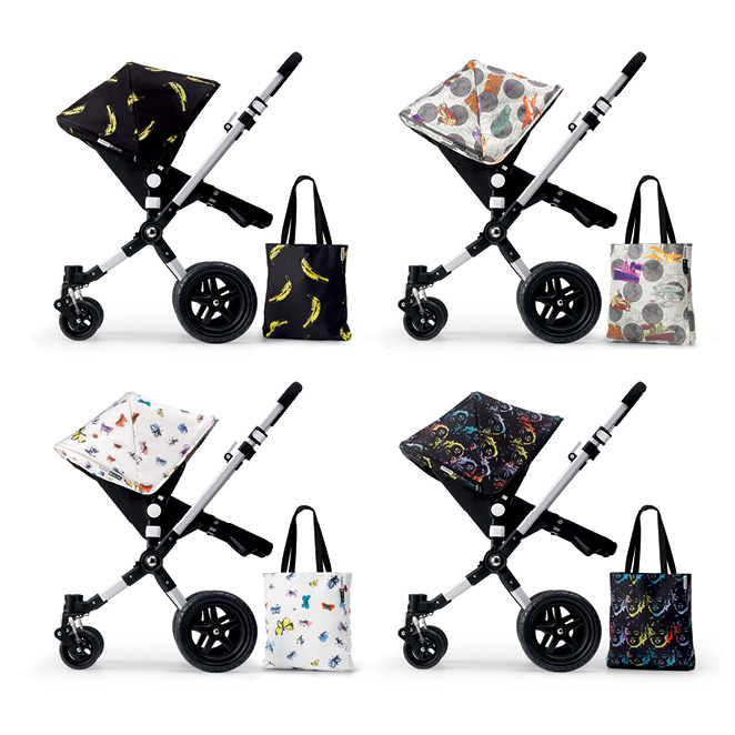Andy Warhol + Bugaboo Retrospective Collection