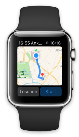 BabyPlaces Apple Watch App